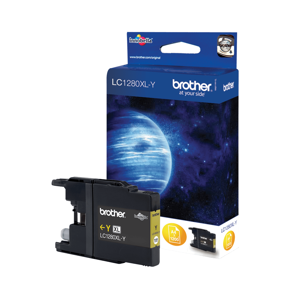 Brother LC1280XLY cartouche d'encre jaune 2