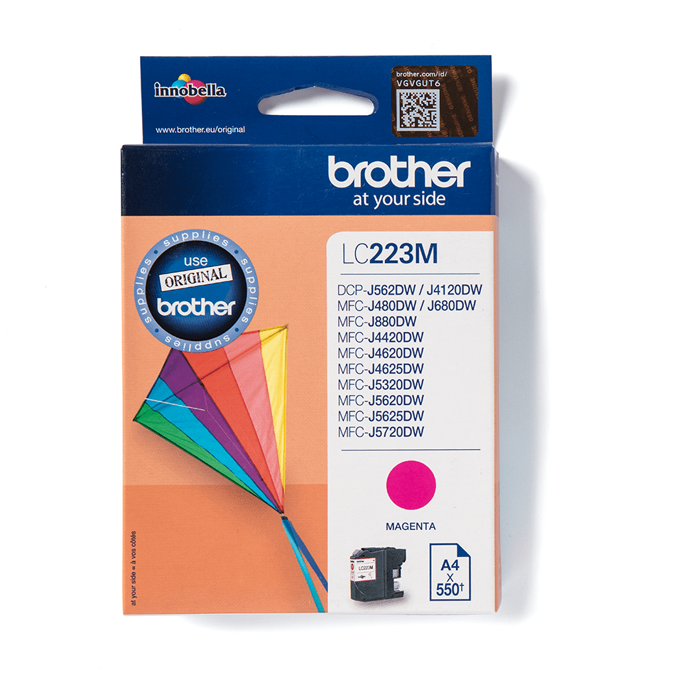Origineel Brother inktpatroon LC223M - magenta