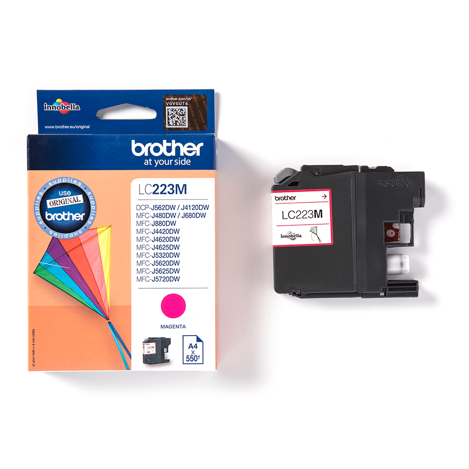Brother LC223M cartouche d'encre magenta 3