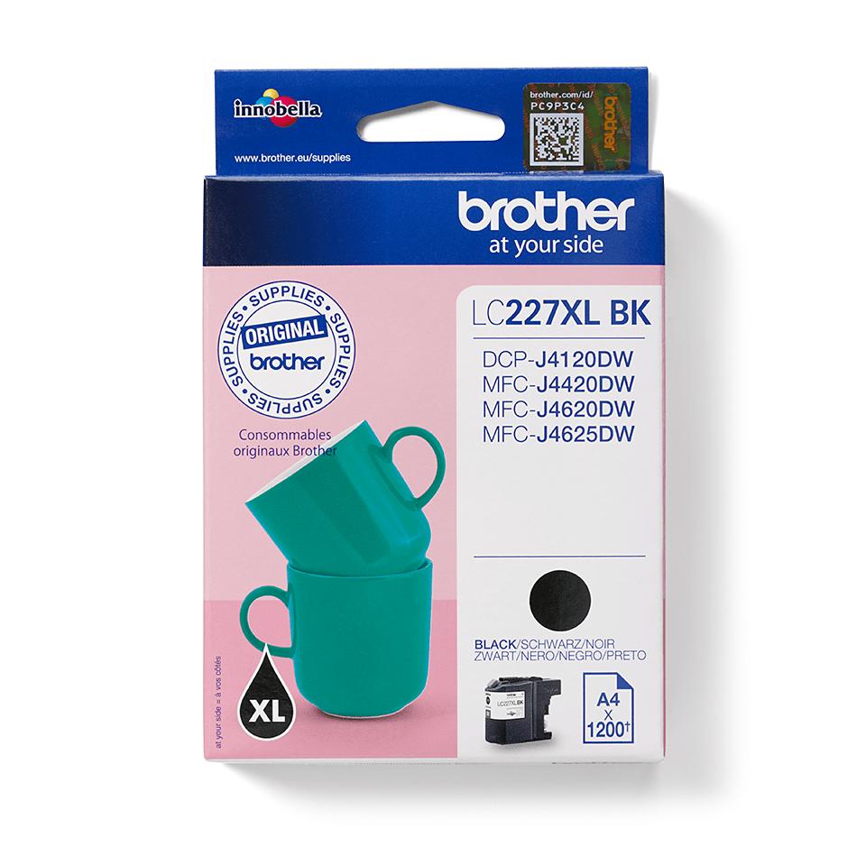 Origineel Brother inktpatroon LC227XLBK - zwart - hoog rendement 2