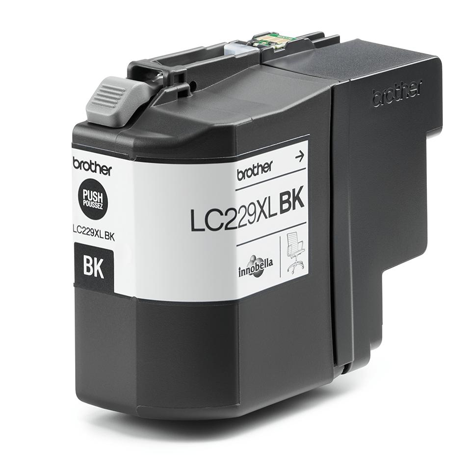 Origineel Brother inktpatroon LC229XLBK - zwart - zeer hoog rendement