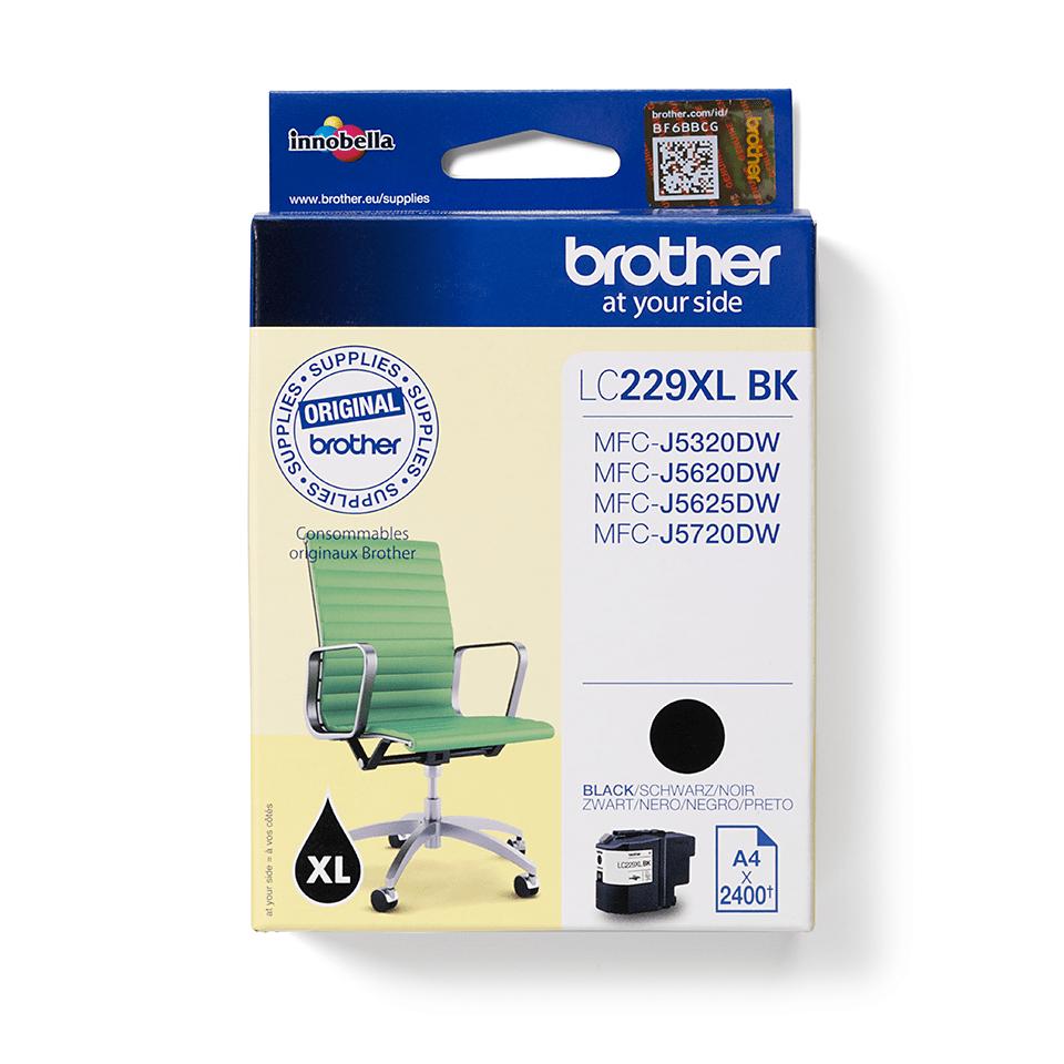 Origineel Brother inktpatroon LC229XLBK - zwart - zeer hoog rendement 2