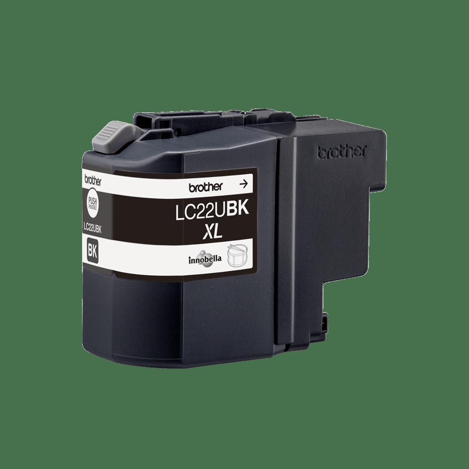 Origineel Brother inktpatroon LC22UBK - zwart - hoog rendement 3