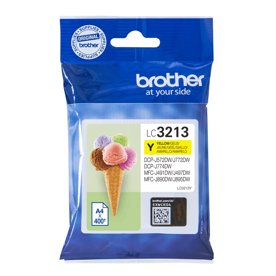 Origineel Brother inktpatroon LC3213Y - geel - hoog rendement 2