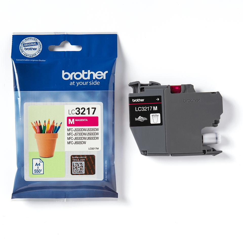 Brother LC3217M cartouche d'encre magenta 3