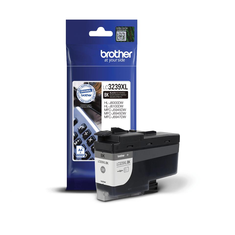 Brother LC3239XLBK inktpatroon zwart