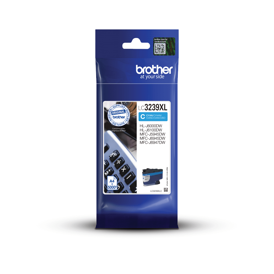 Brother LC3239XLC cartouche d'encre cyan 3