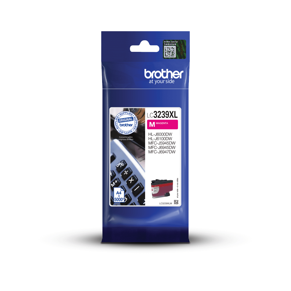 Brother LC3239XLM cartouche d'encre magenta 3