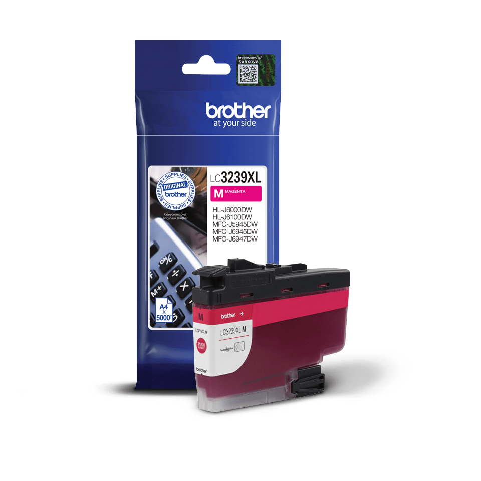 Brother LC3239XLM cartouche d'encre magenta 2