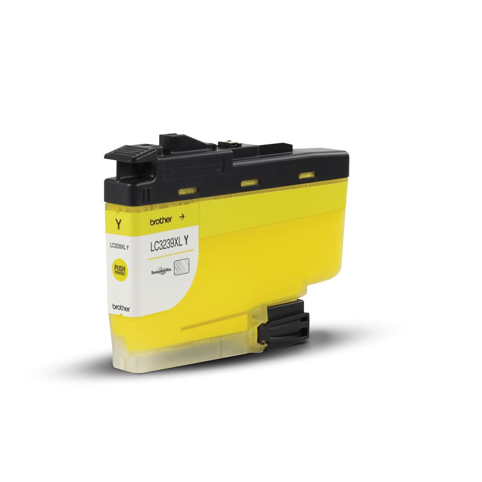 Origineel Brother inktpatroon LC3239XLY - geel - hoog rendement