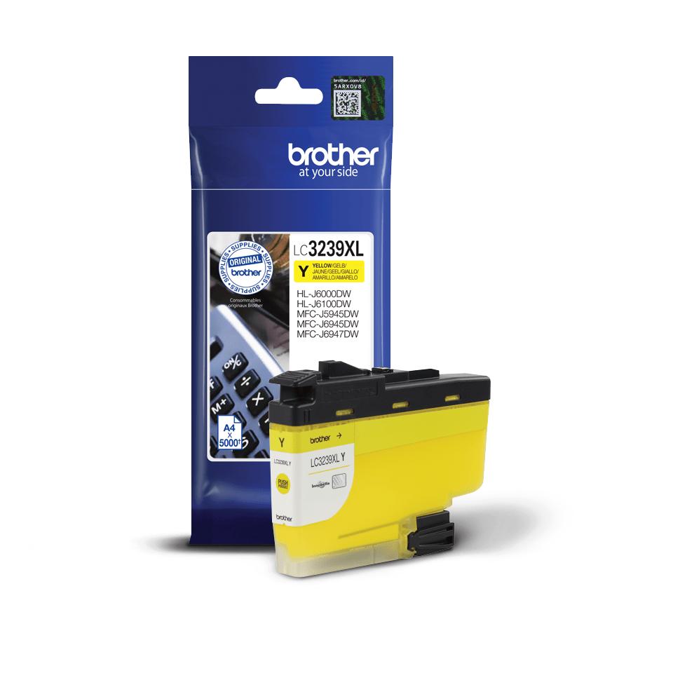 Origineel Brother inktpatroon LC3239XLY - geel - hoog rendement 2