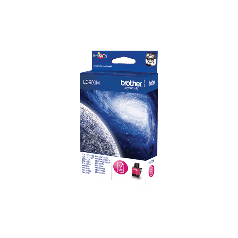 Cartouche d'encre LC900M Brother originale – magenta 2
