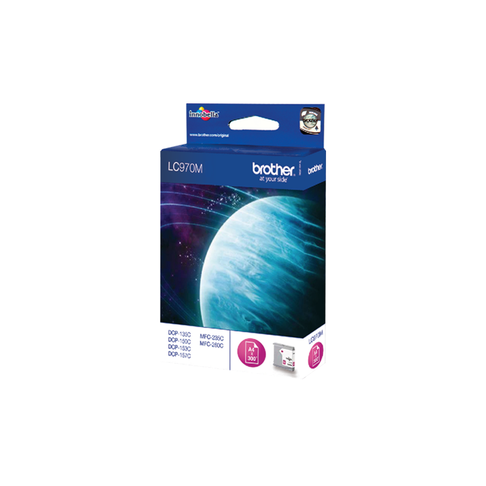 Brother LC970M cartouche d'encre magenta 2