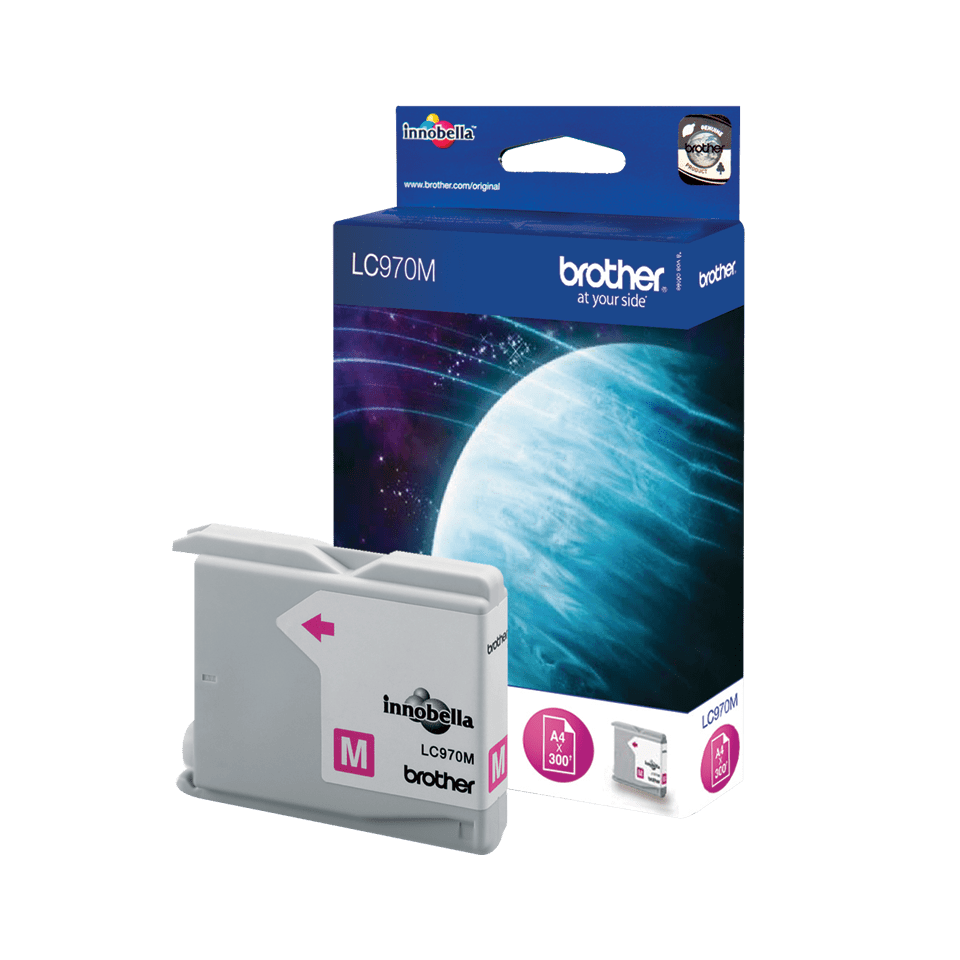 Brother LC970M cartouche d'encre magenta