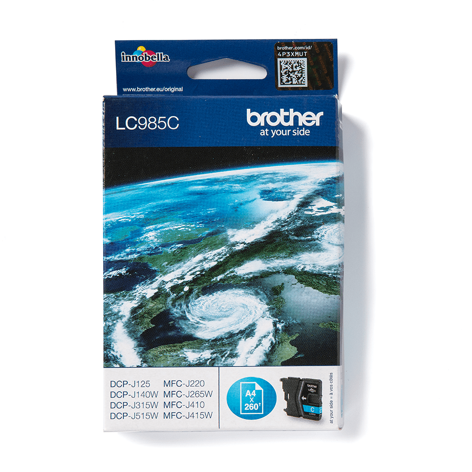 Cartouche d'encre LC985C Brother originale – cyan 0