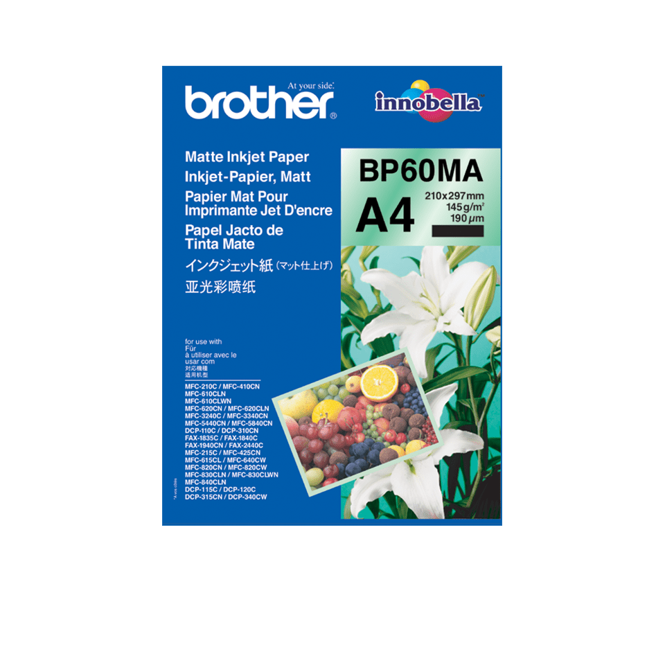 Origineel Brother BP60MA A4 Mat Inkjetpapier