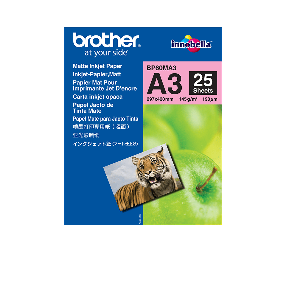 Origineel Brother BP60MA3 A3 Mat Inkjetpapier