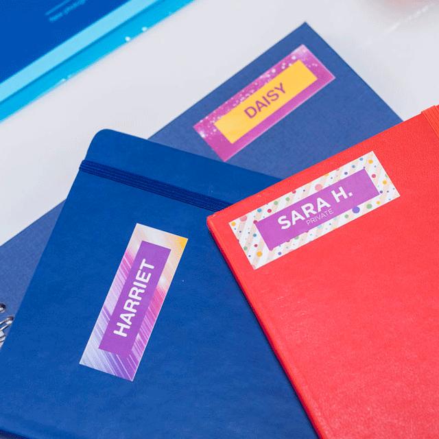 Originele Brother CZ-1001 kleuren labels 15