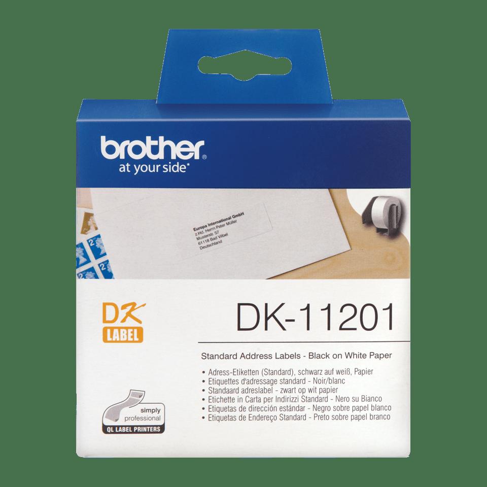 Originele Brother DK-11201 standaard adreslabels - 29 x 90mm 0
