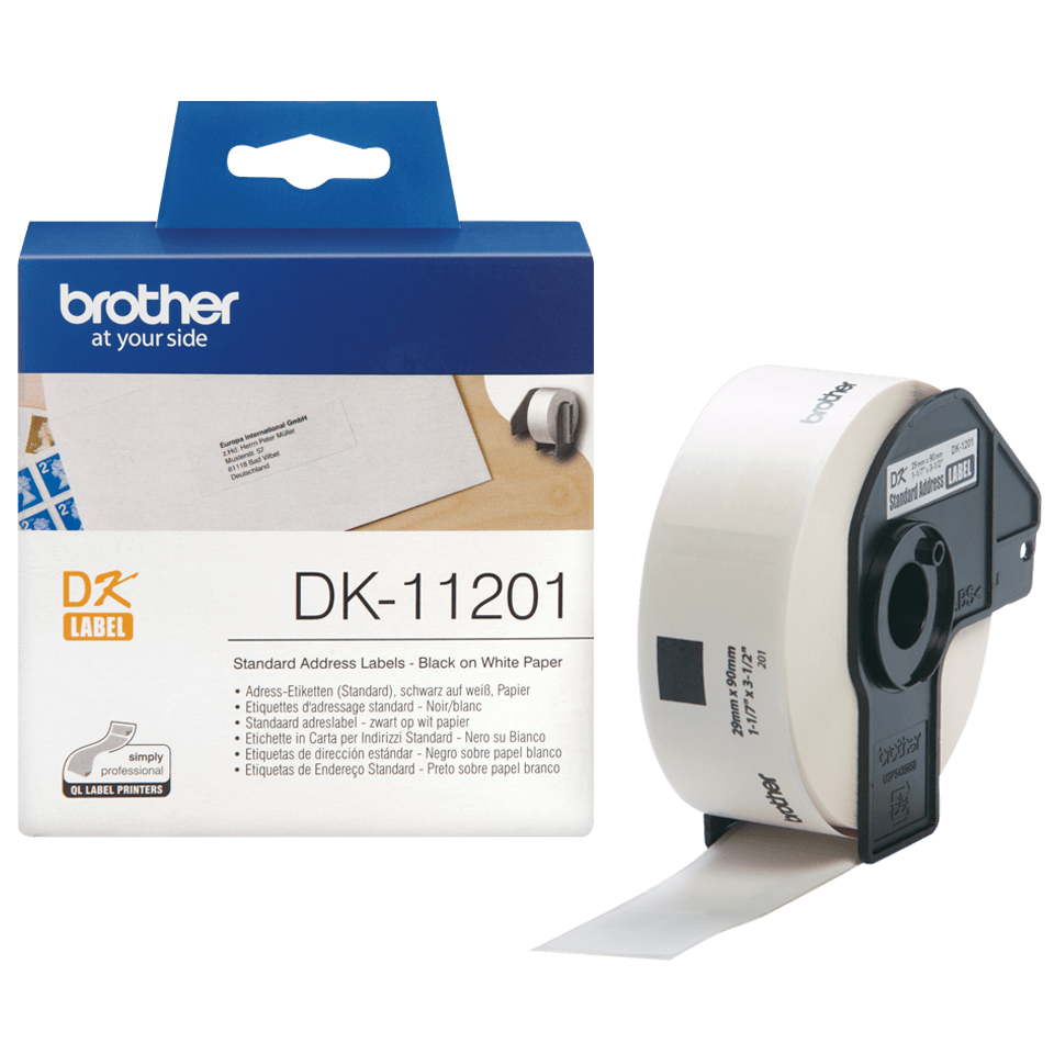 DK-11201 étiquettes d'adressage standard Brother originales