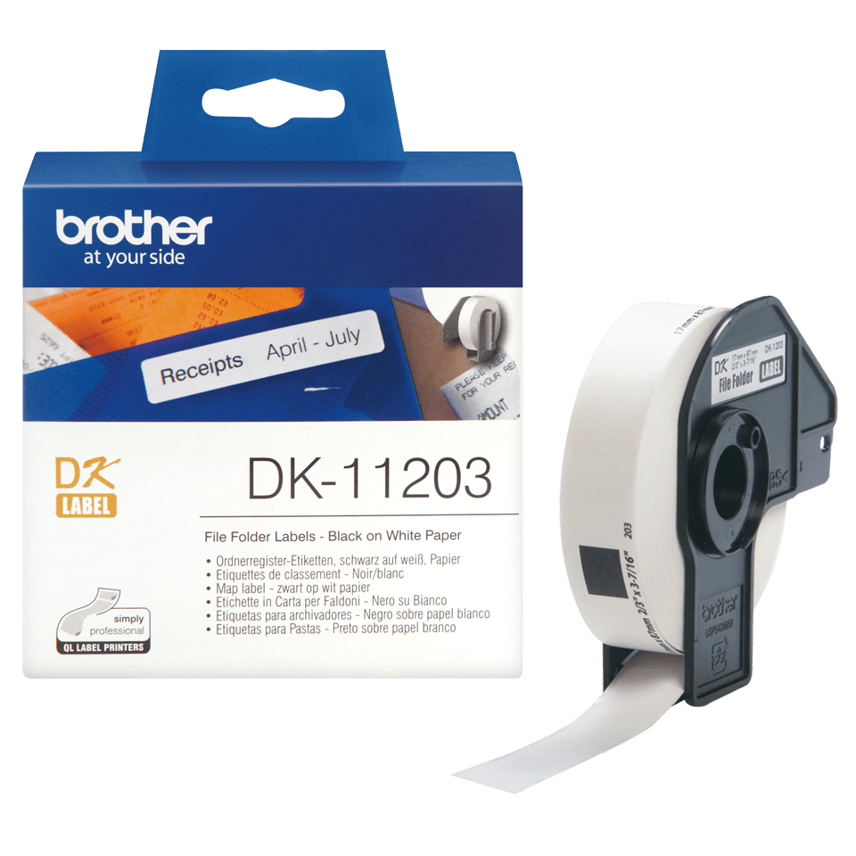 Originele Brother DK-11203 map labels 3
