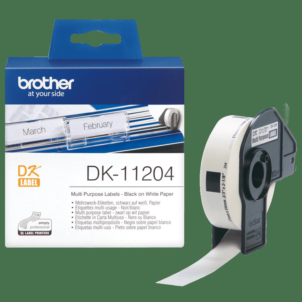 DK-11204 étiquettes multi-usage Brother originales 3