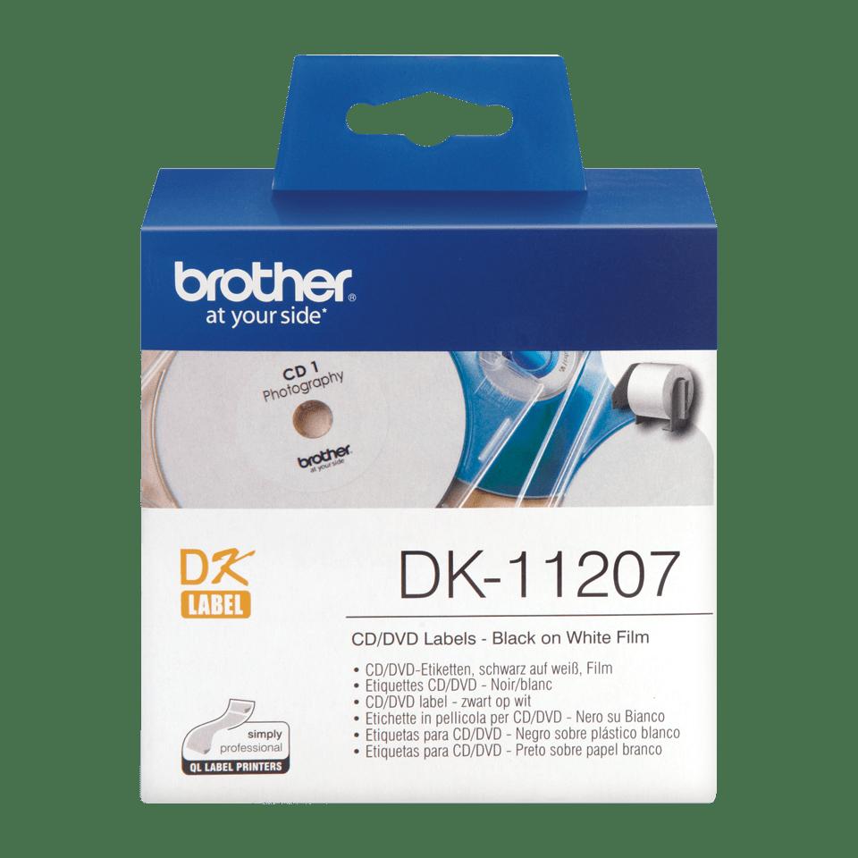Originele Brother DK-11207 CD/DVD labels