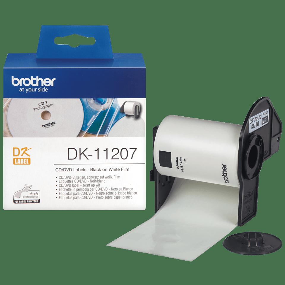 Originele Brother DK-11207 CD/DVD labels 3