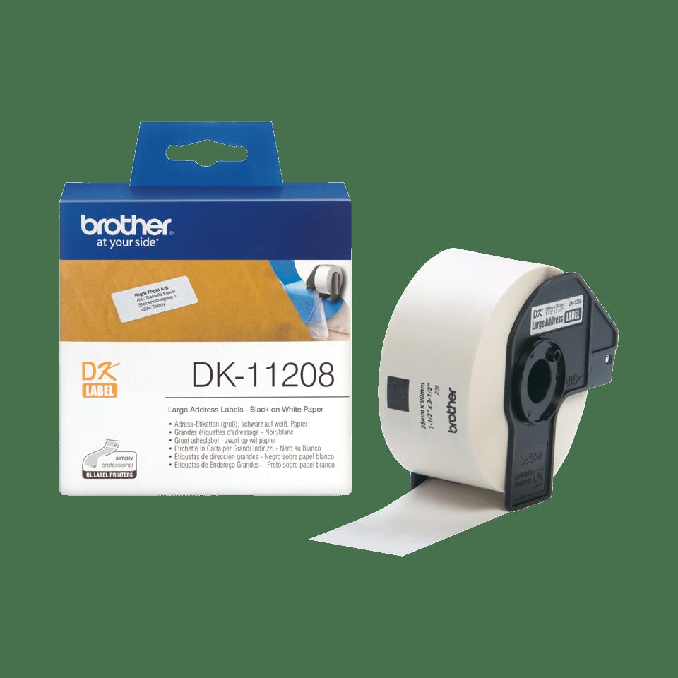 DK-11208 grandes étiquettes d'adressage Brother originales 3