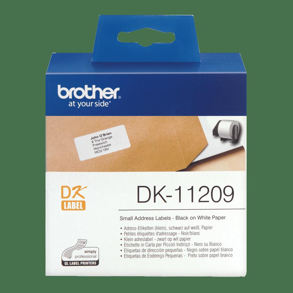 Originele Brother DK-11209 kleine adreslabels