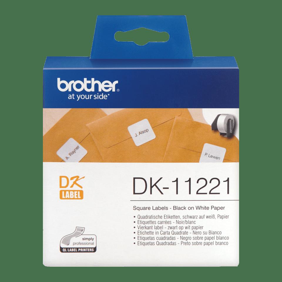 Originele Brother DK-11221 vierkante labels