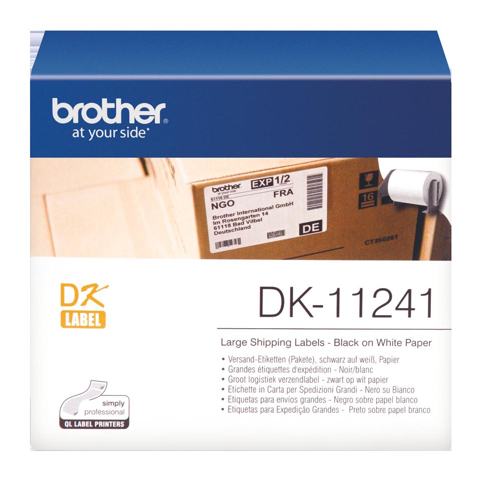 Originele Brother DK-11241 grote verzendlabels