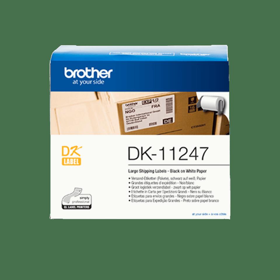 DK-11247 grandes étiquettes d'expédition Brother originales