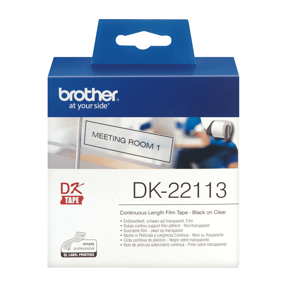 Originele Brother DK-22113 labels 2