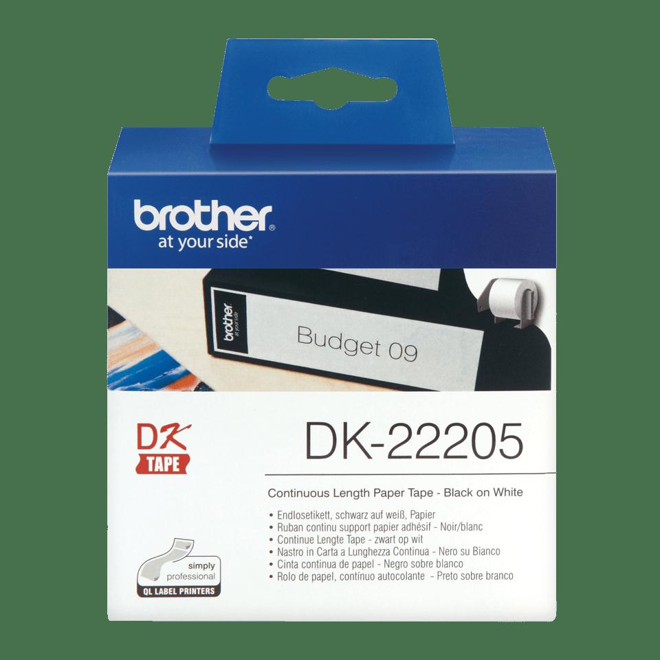 Originele Brother DK-22205 labels