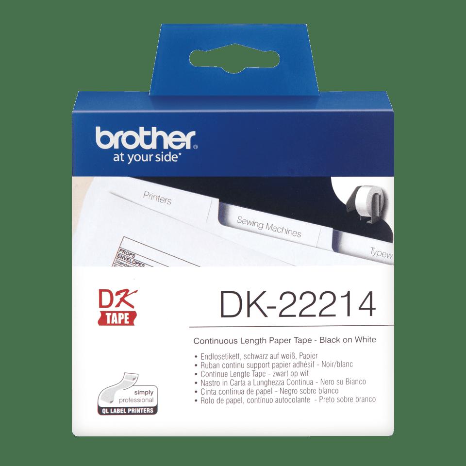 Originele Brother DK-22214 labels