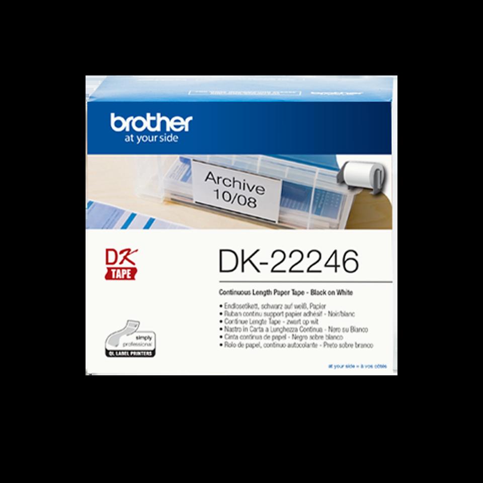 DK-22246 étiquettes Brother originales
