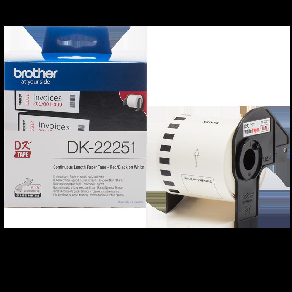 Originele Brother DK-22251 labels 3