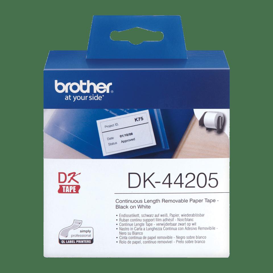 Originele Brother DK-44205 verwijderbare labels