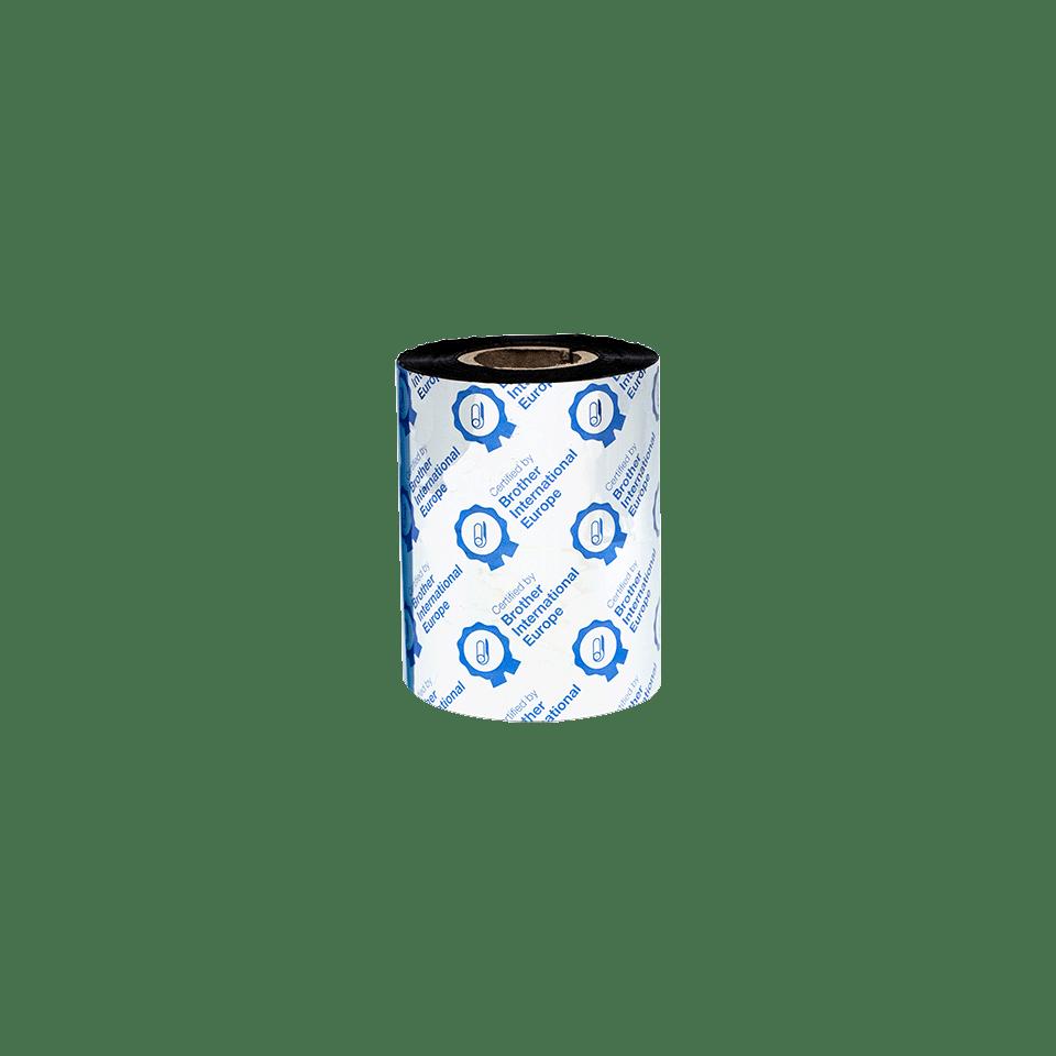 BRP-1D300-080 Premium resin thermal transfer lint met zwarte inkt 3
