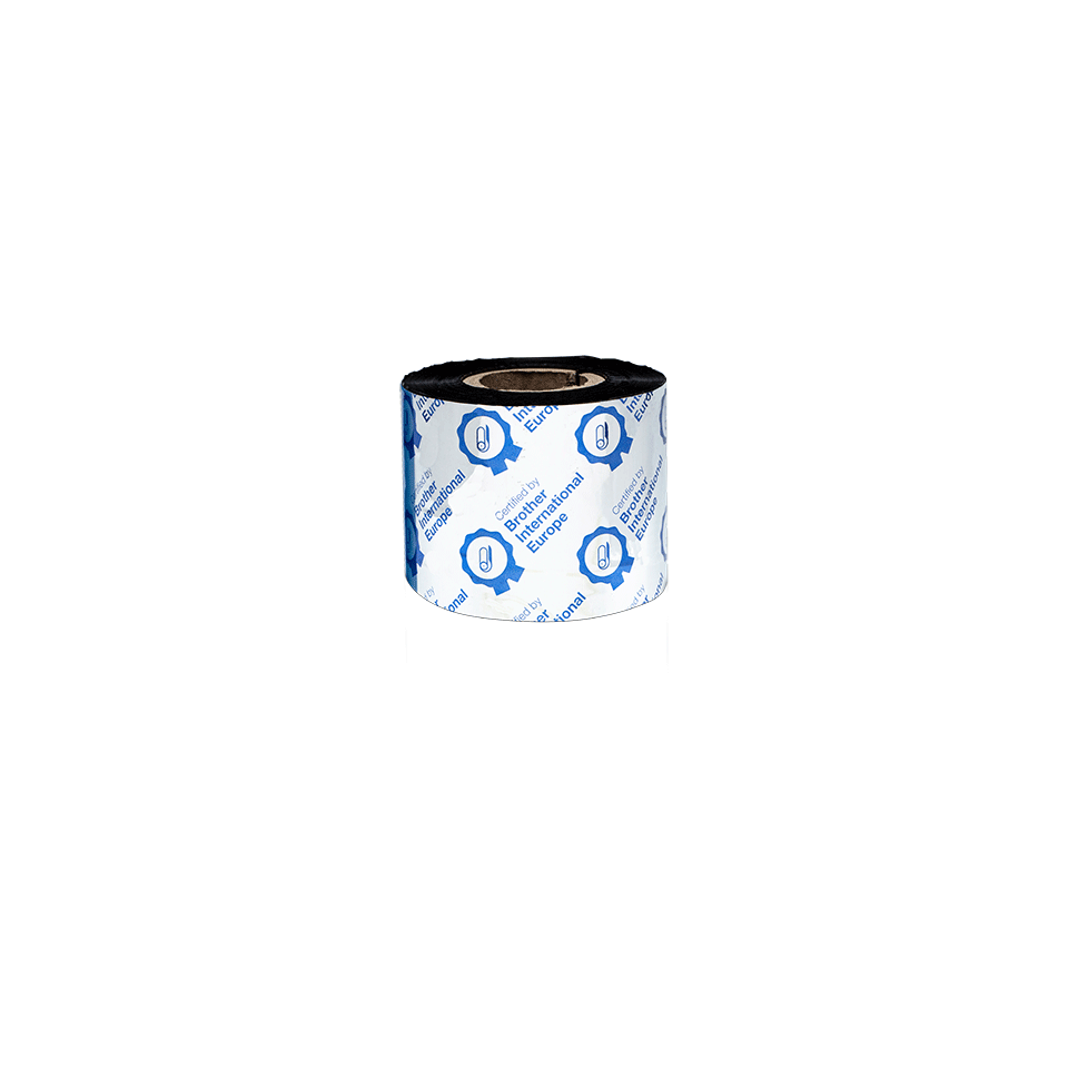 BSS-1D300-060 Standaard wax/resin thermal transfer lint met zwarte inkt 3