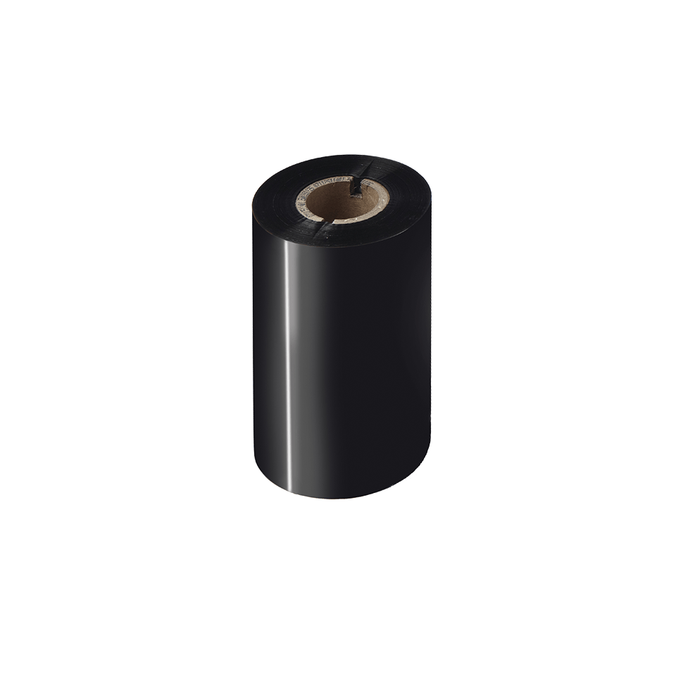 BSS-1D300-110 Standaard wax/resin thermal transfer lint met zwarte inkt