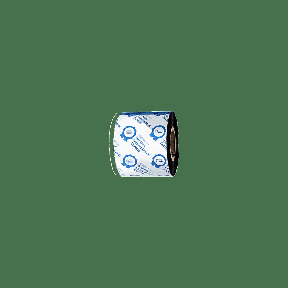 BWP-1D300-060 Premium wax thermal transfer lint met zwarte inkt