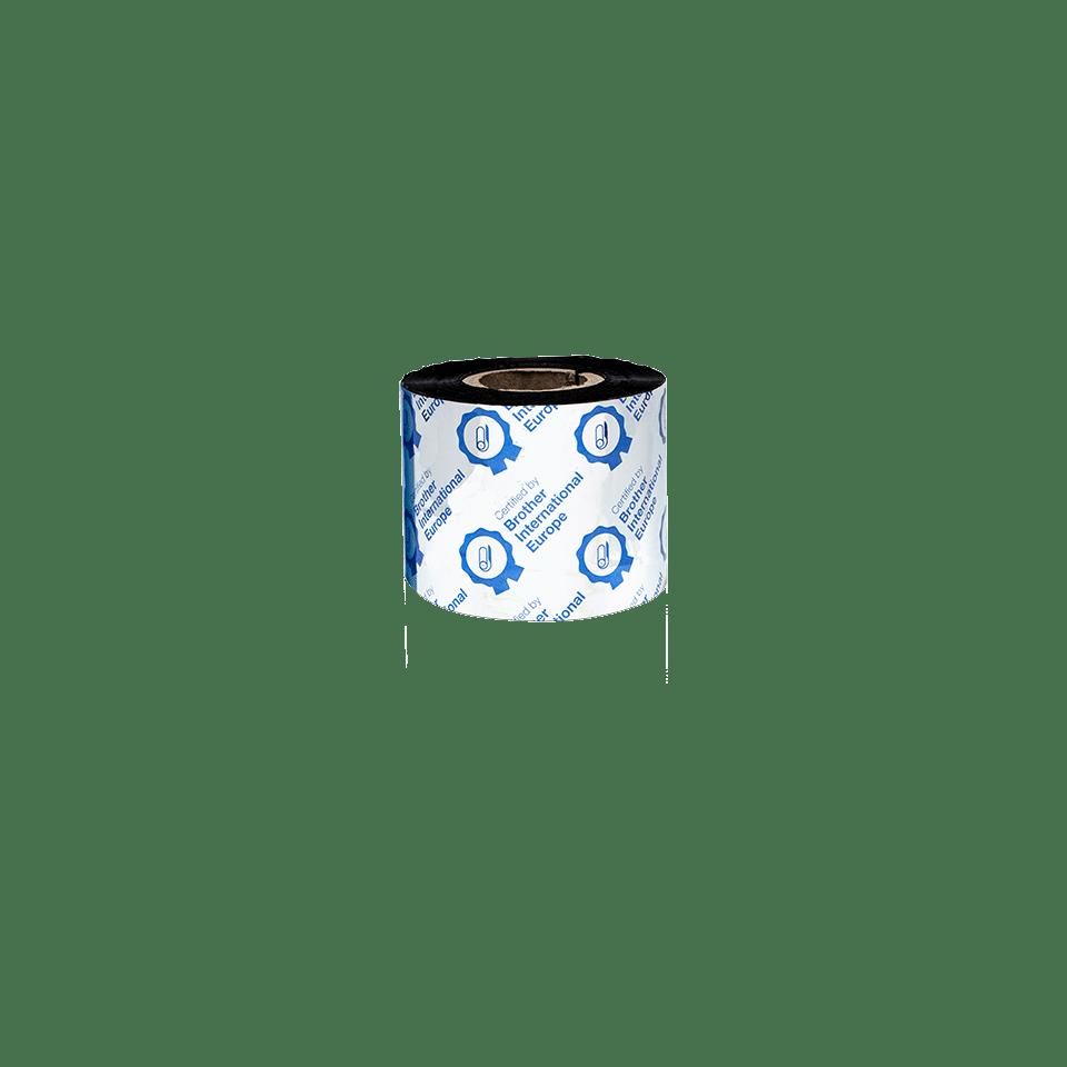 BWP-1D300-060 Premium wax thermal transfer lint met zwarte inkt 3