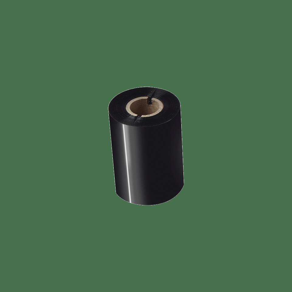 BWP-1D300-080 Ruban encreur noir de cire premium à transfert thermique 2