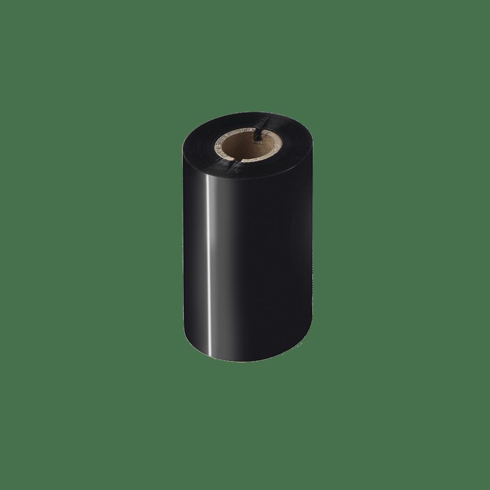 BWP-1D300-110 Ruban encreur noir de cire premium à transfert thermique