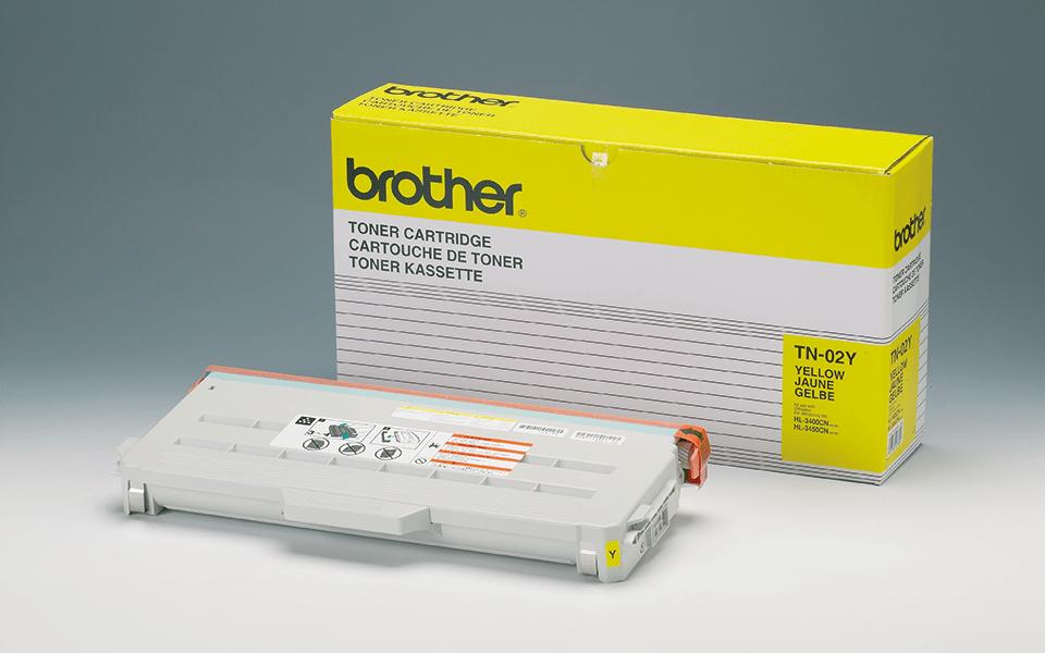Brother TN02Y toner jaune - rendement standard