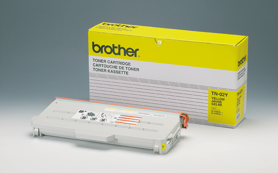 Brother TN02Y toner geel - standaard rendement