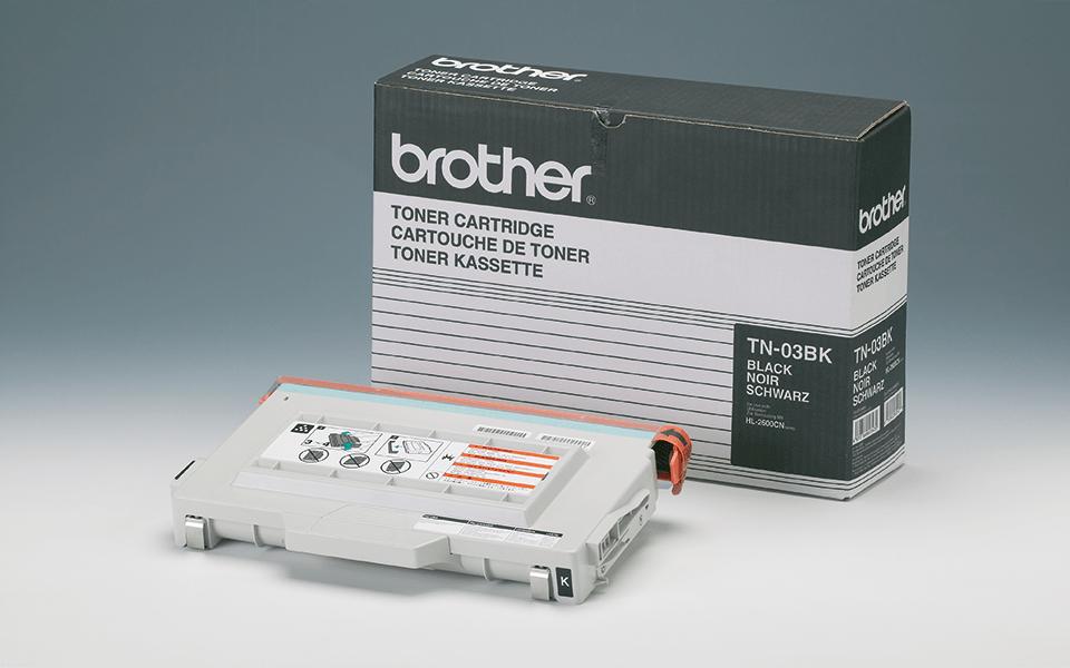 TN-03BK toner noir d'origine Brother à rendement standard