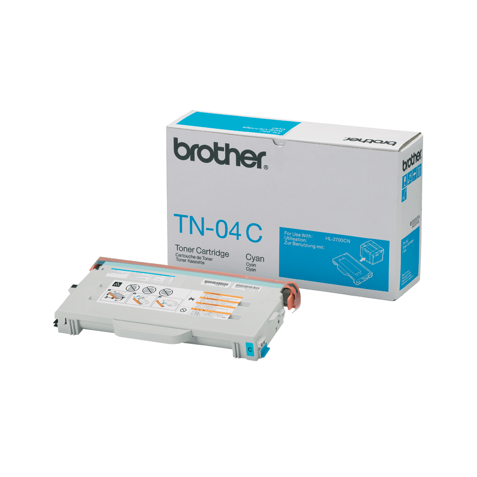 Brother TN04C toner cyaan - standaard rendement